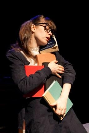 Megan Stern as Gittel Fenster (photo by Chasi Annexy)