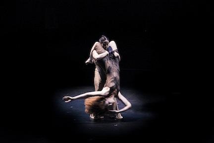 From Rosie Herrera Dance Theatre's 'Dining Alone' (Photo by Adam Reign)