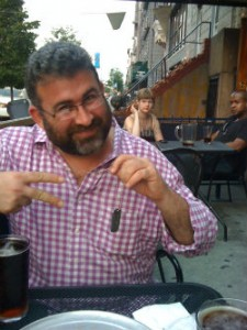 Meeting with Andy in Williamsburg, summer 2010