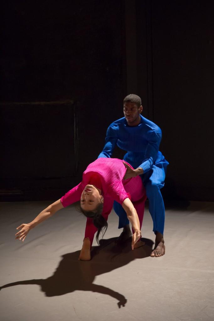 """Dwayne Brown & Jin Ju Song-Begin in Sean Curran's """"Duet Event"""" Photo by David Gonsier"""