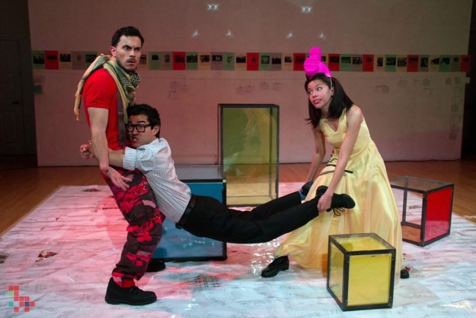 TALA by Kyoung Park. Left to right: Rafael Benoit, Daniel Lim, Flor De Liz Perez.