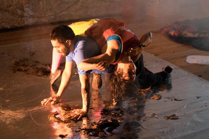 Rebecca Serrell Cyr and Alex Escalante, photo by Ed Forti