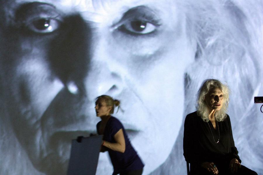 Tina Benko and Judith Roberts. Photo by Hiroyuki Ito
