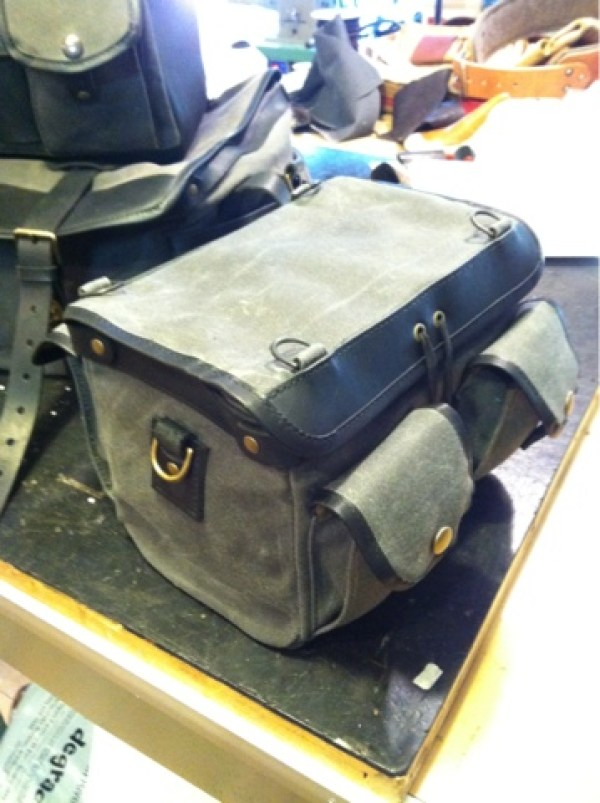 27th letter handlebar bag