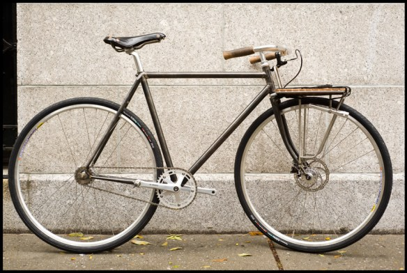 FAST BOY CYCLES FIXED PORTEUR BIKE