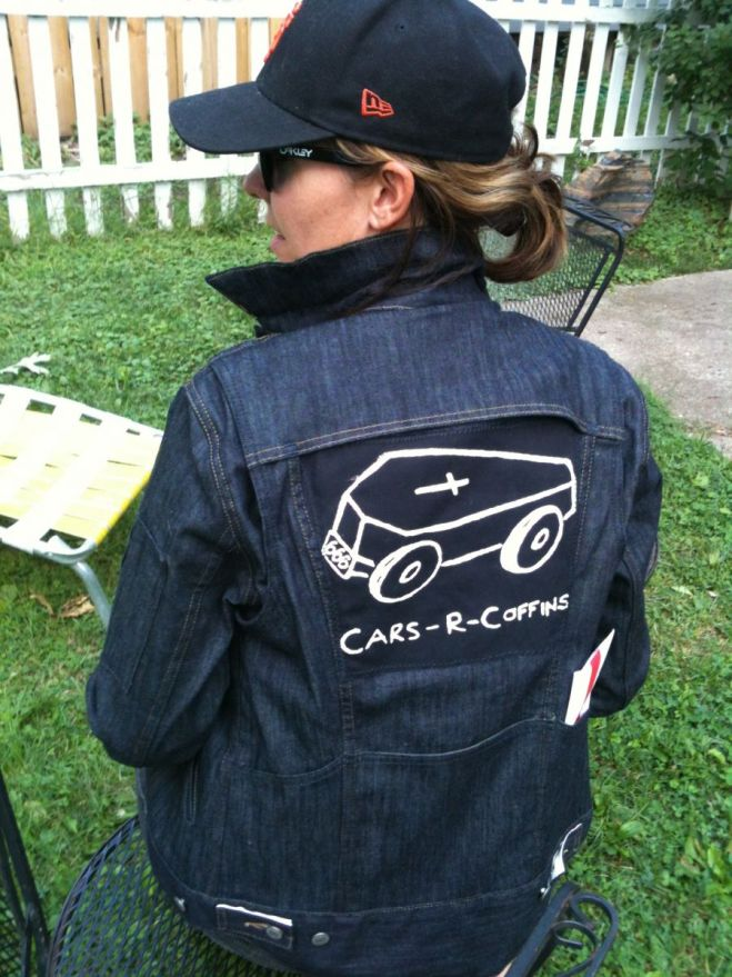 cars r coffins levis jacket