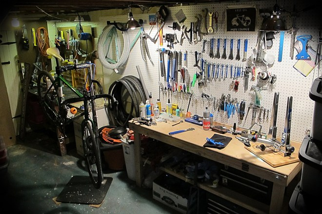 bicycle work shop