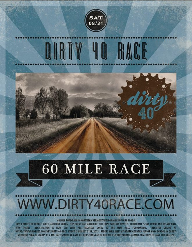 dirty 40 race vermont
