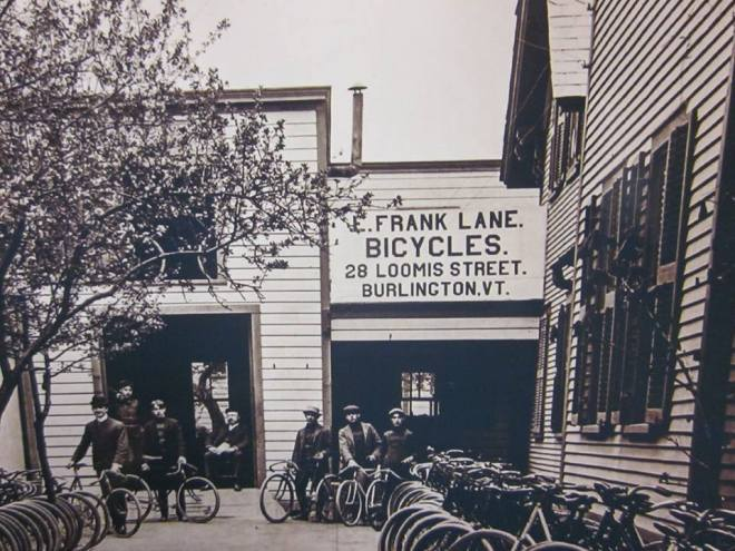 burlington bicycle shop