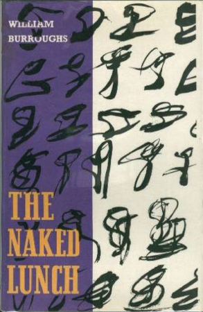 Naked Lunch Olympia Press Cover 1
