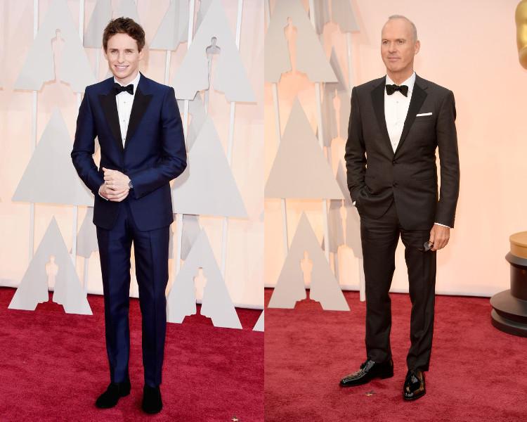 Oscars 2015 Redmayne Keaton