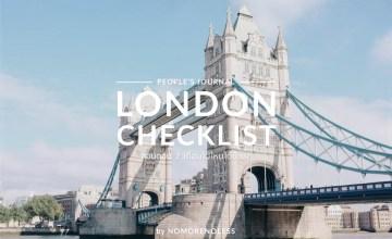 ลอนดอน 2 เดือนไปไหนได้บ้าง? London Checklist
