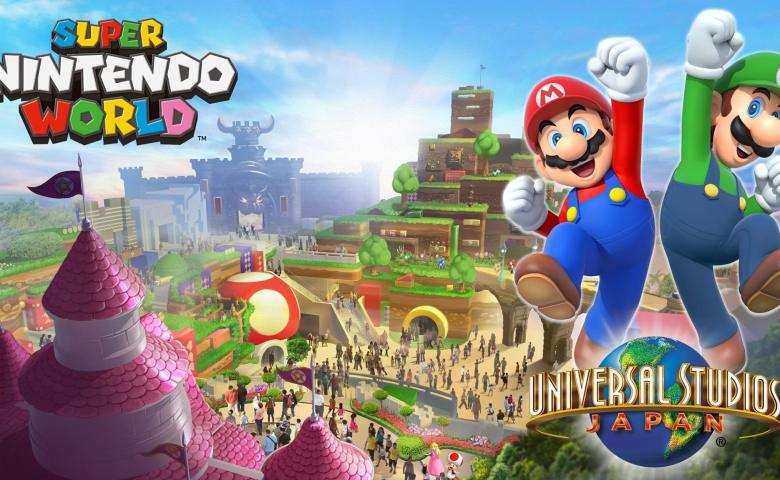 สวนสนุก Nintendo แห่งแรกของโลก เตรียมเปิดตัวในชื่อ SUPER NINTENDO WORLD ที่โอซาก้าในปี 2020