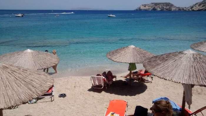 voyage en crète agia pelagia plage