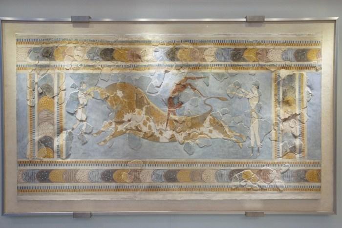 musée archéologique d'Héraklion fresque
