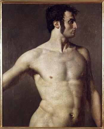 Torse d'homme, Jean-Auguste-Dominique Ingres