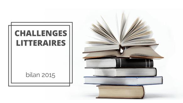 bilan challenges littéraires 2015