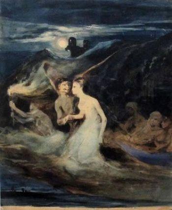 Les fantômes Louis Boulanger