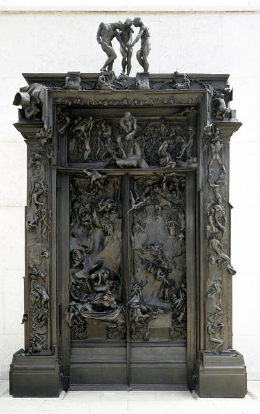 La porte de l'Enfer, Rodin