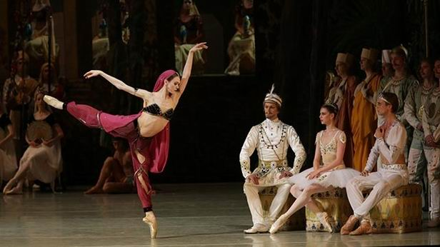 La bayadere all'opera4