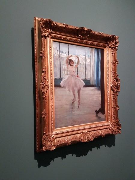 danseuse posant chez un photographe, Edgar Degas - musée Pouchkine