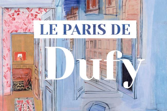 le paris de dufy expo musée montmartre