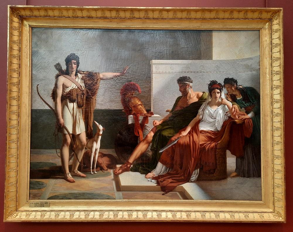 Pierre Narcisse Guerin Phedre et Hippolyte