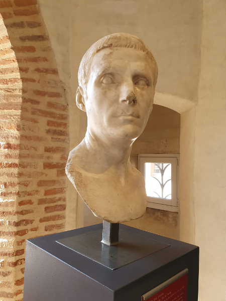 buste d'un inconnu Saint Raymond