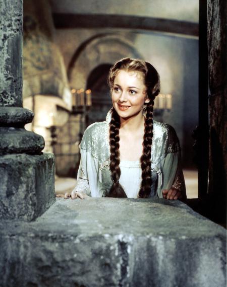 Olivia de Haviland dans Les aventures de robin des bois