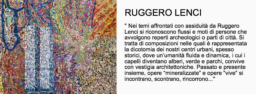 Ruggero Lenci - Mostra Spiritual Bridges
