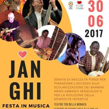 JANGHI - Concerto per i bambini senegalesi