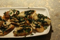 Bruschetta with Porcini Mushrooms