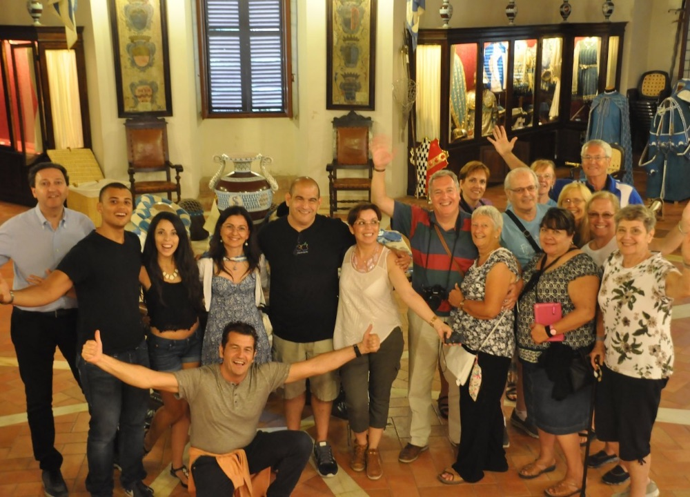 It is not easy to be let into the palio Museums