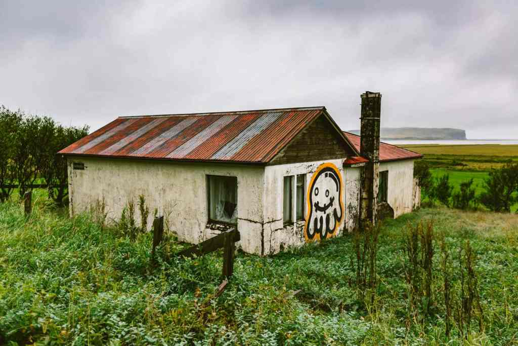 Travel Photography: Haunted House in Iceland