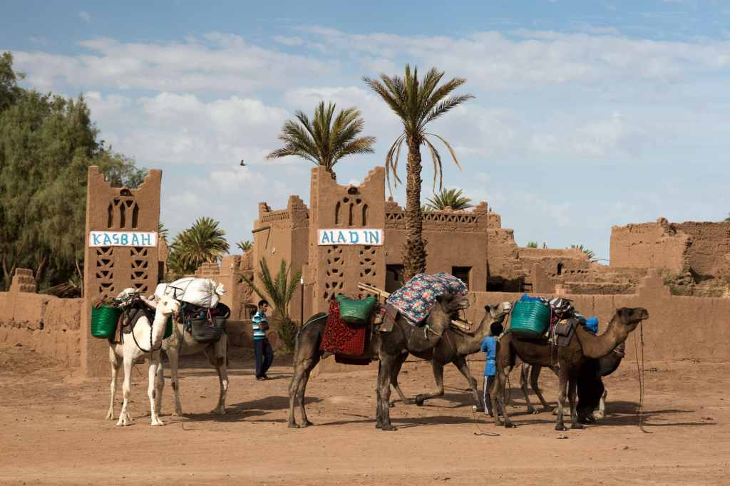 travelling alone in Morocco