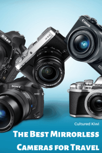 the best mirrorless cameras for travel