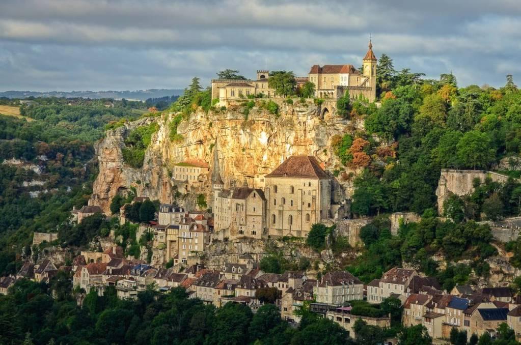 Rocamadour castle