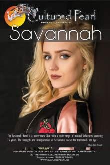 Live Entertainment with Savannah!