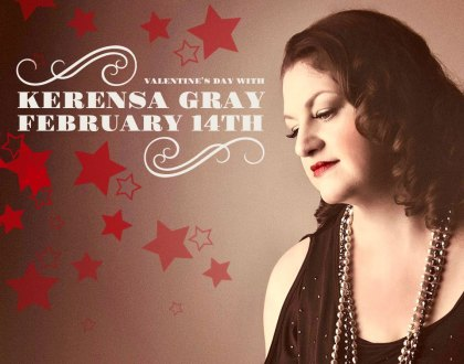 Valentine's Day special menu Fri, Feb 14th, 2020 with Kerensa Gray Live