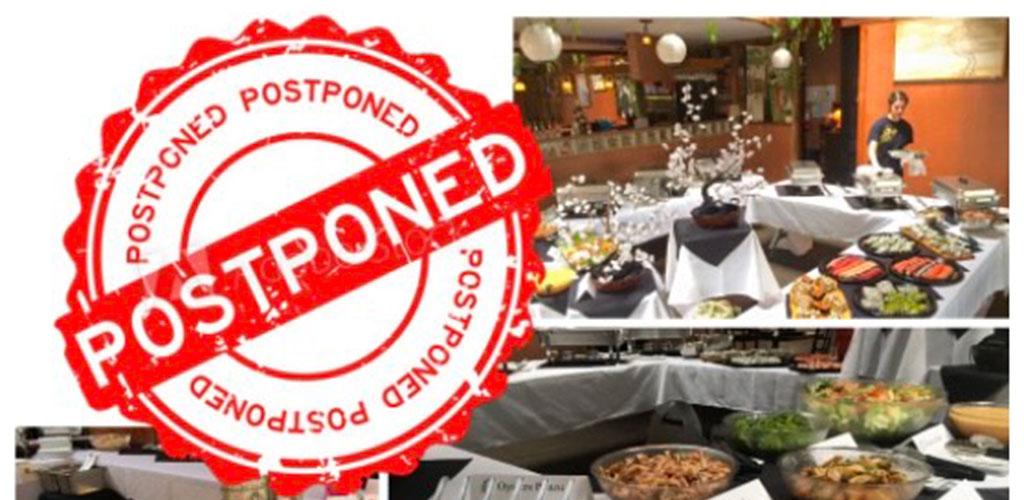 Buffet Extravaganza 2021 postponed