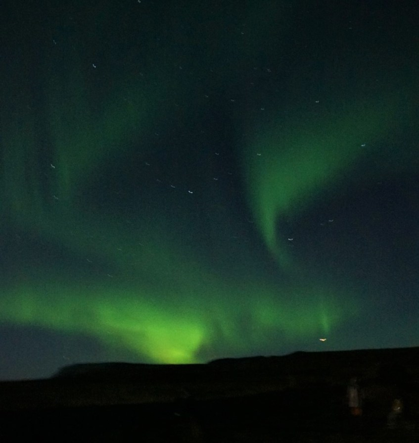 The astounding Northern Lights seen just outside of