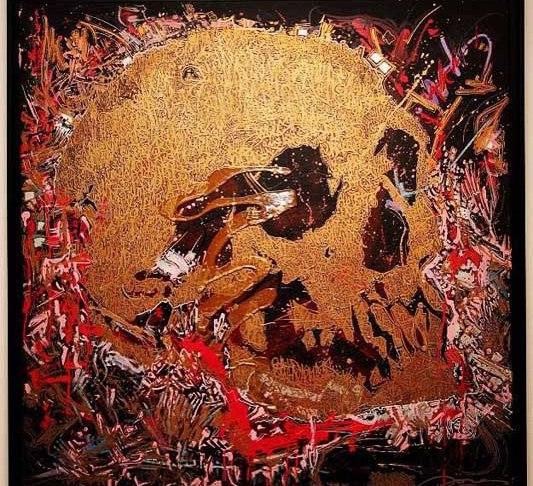 sunset skull