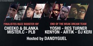 finale buzz booster idf eow hip hop
