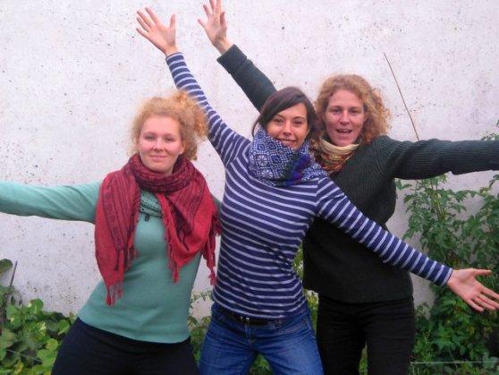 Rachel, Gaby, Miriam