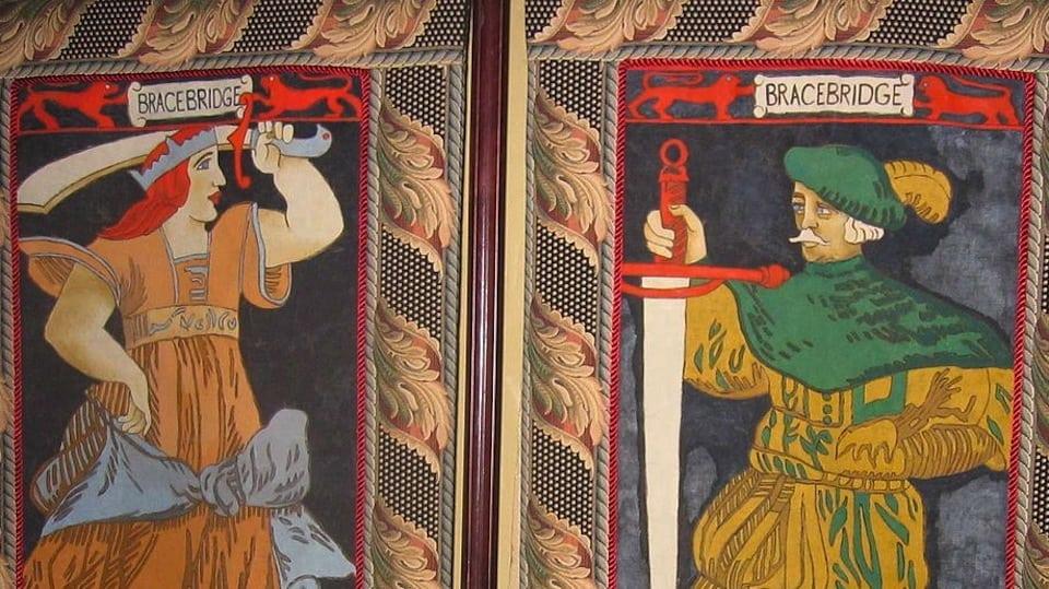 Bracebridge Curtains Public Domain