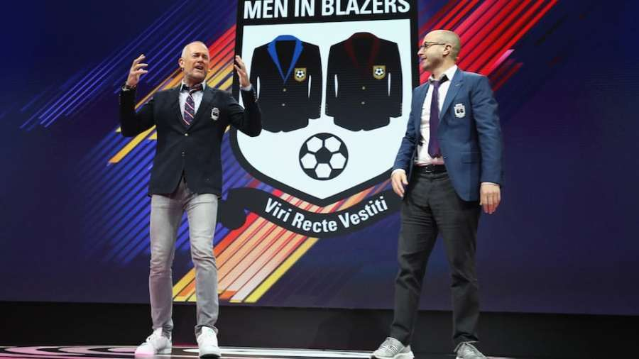 Men in Blazers Courtesy of Getty Images
