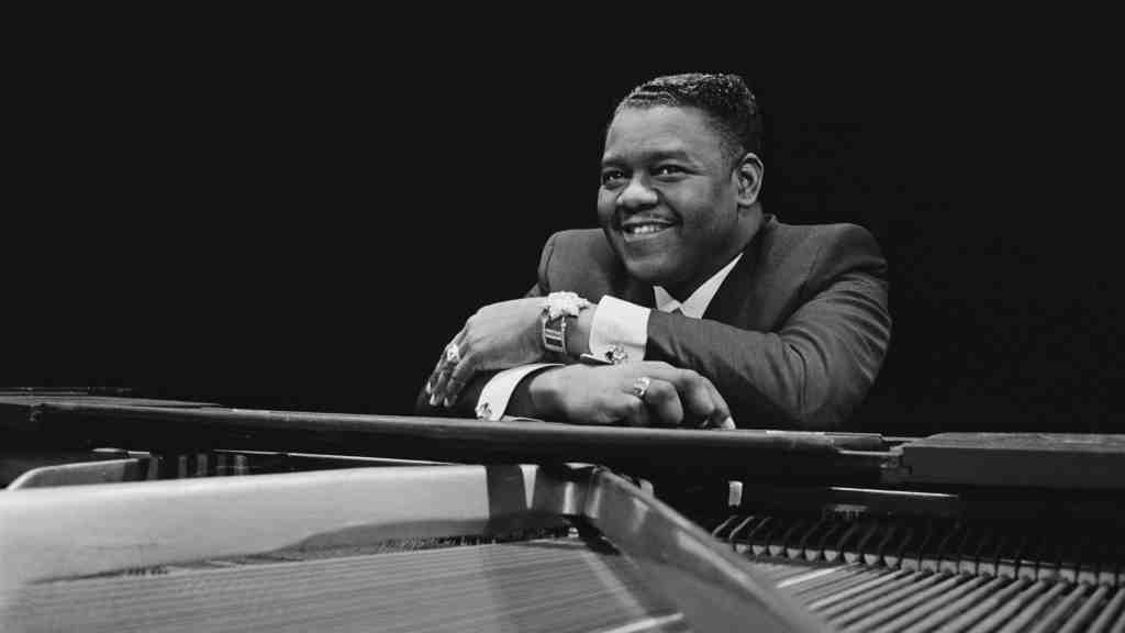 Fats Domino from Getty Images