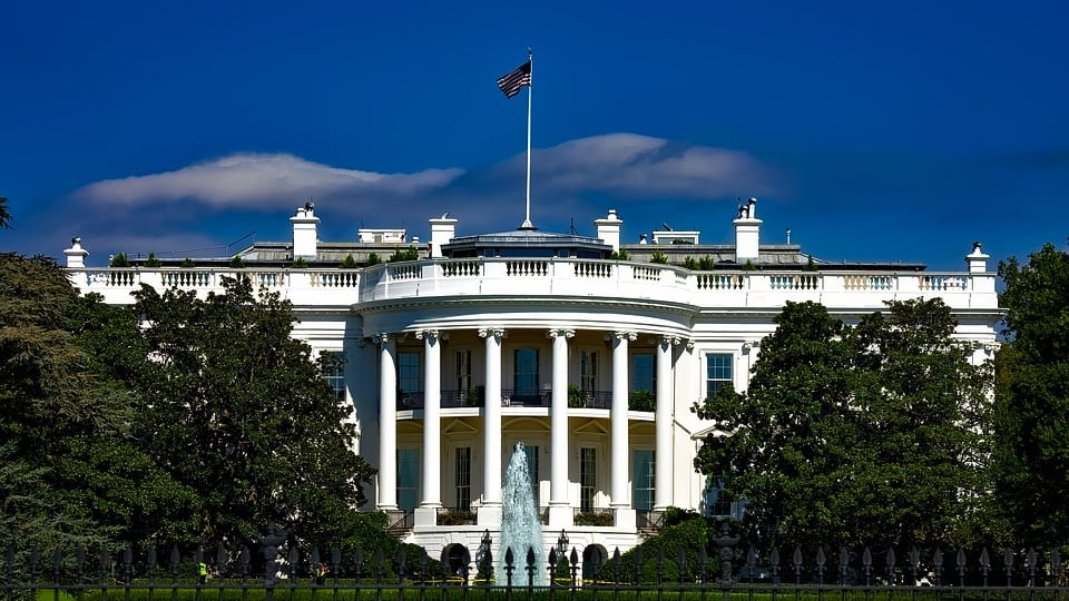 The White House image courtesy of Pixabay