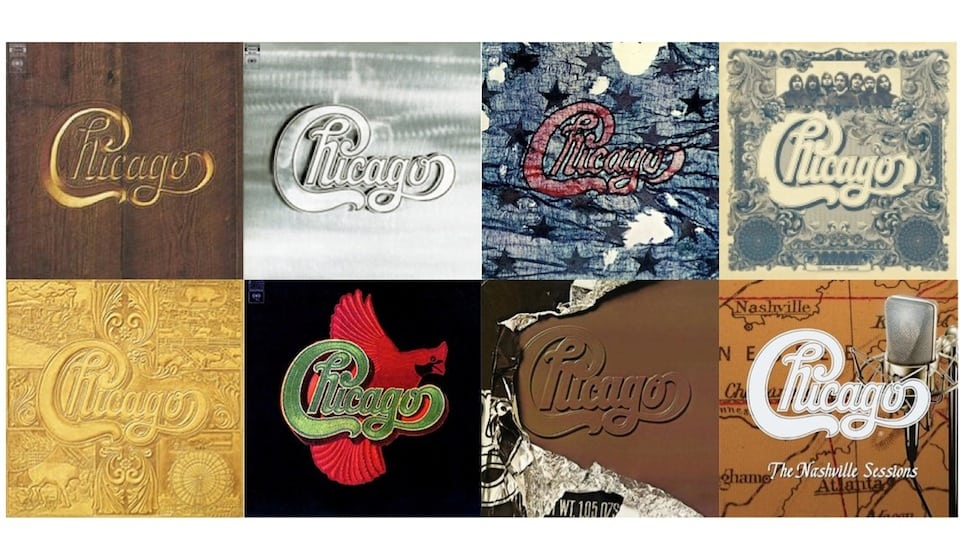 Eight Chicago Albums (Fair Use)