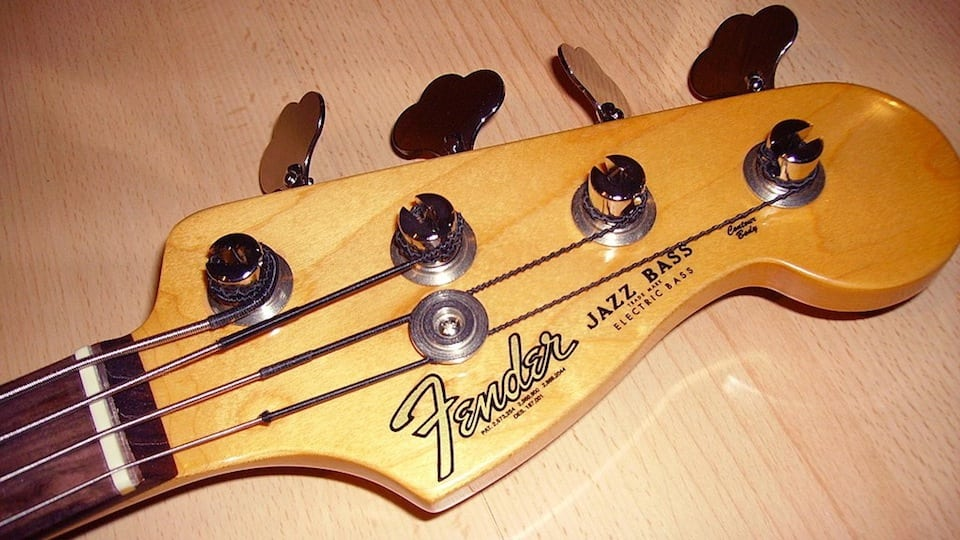 Fender Jazz Bass by Paul Klein